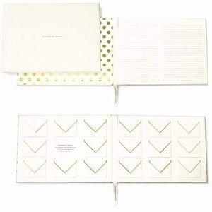 Kate Spade For The Mr. & Mrs. Guest Book Set